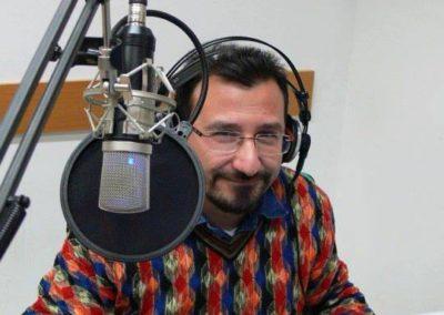 Toni Fontana in fase edizione audio