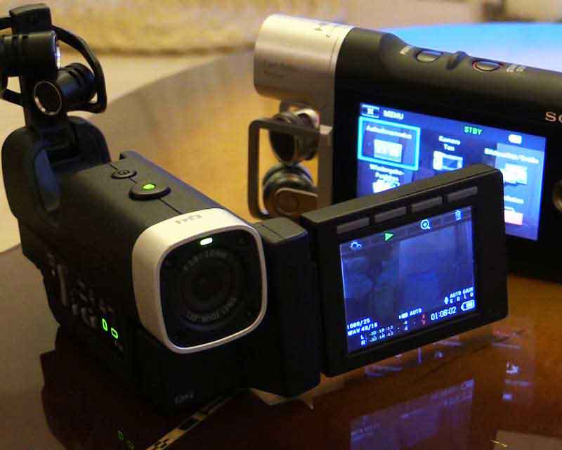 Videocamere musicali