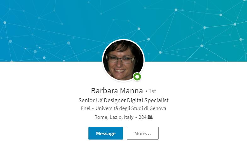 Barbara Manna – Senior UX Designer Digital Specialist
