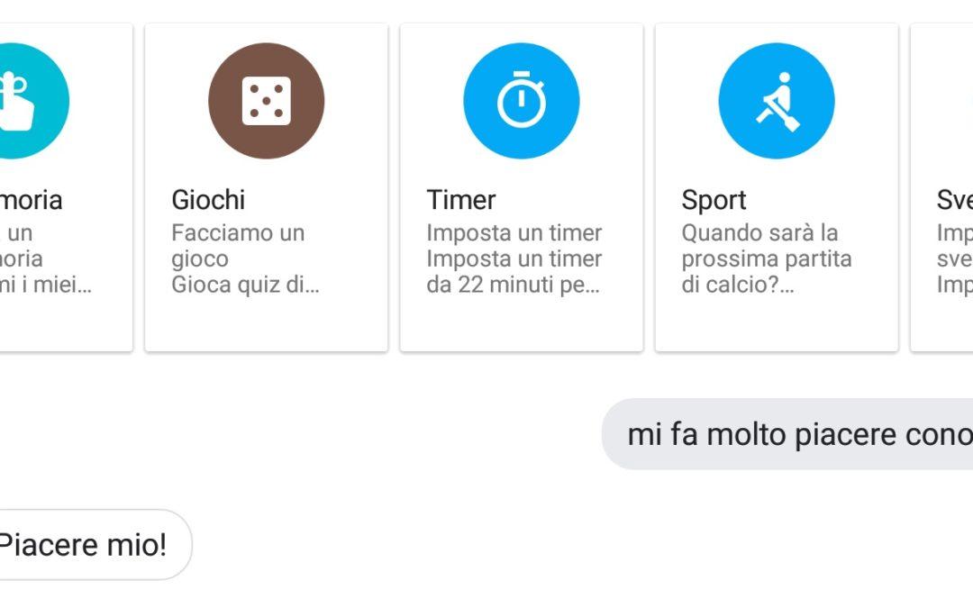 Controlla ogni cosa con la tua voce – Google Assistant