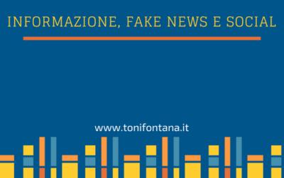 Informazione, fake news e social