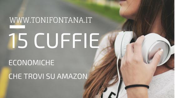 Cuffie economiche Amazon – Intorno ai 50 euro